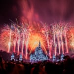 New Year's Eve Fireworks Magic Kingdom