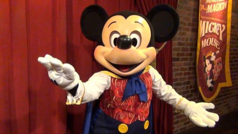 Talking Mickey Mouse Magic Kingdom