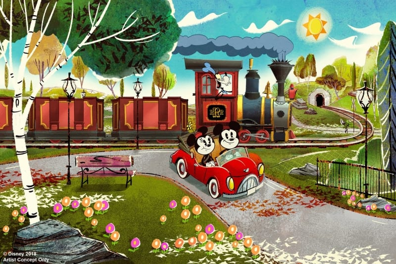 Mickey and Minnie's Runaway Railway Coming to Disneyland Park
