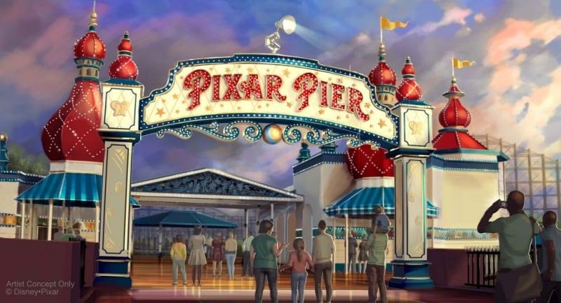 Pixar Pier Opening June 23 in Disney California Adventure
