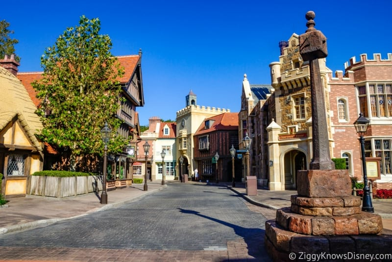 Disney Removes Smoking Section in Epcot's UK Pavilion