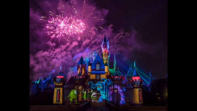 New Sneak Peek of Disneyland Together Forever – A Pixar Nighttime Spectacular