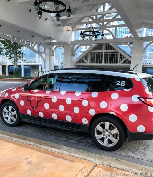 Disney's Minnie Van Review Walt Disney World