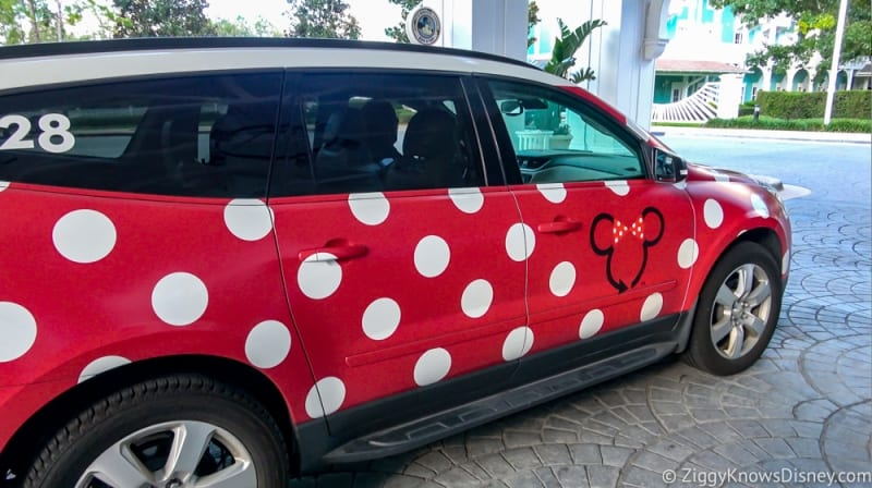 Disney's Minnie Van Review Walt Disney World