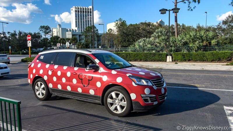 Disney Minnie Vans Pricing System Now $2.75 Per Mile