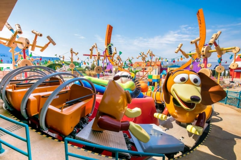 New Images of Toy Story Land in Shanghai Disneyland