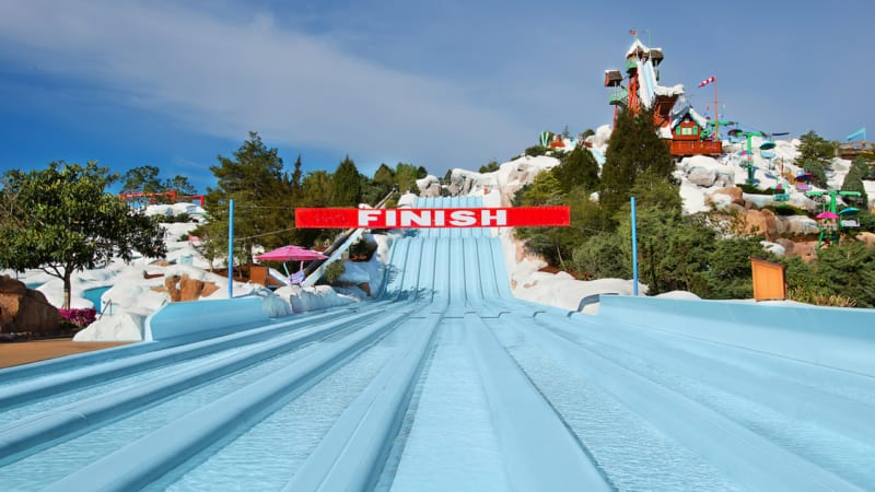 Blizzard Beach refurbishment