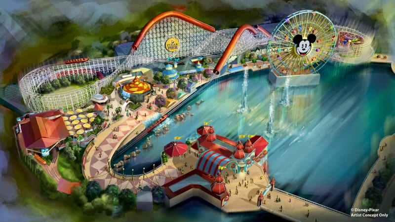 Enter and Win the Pixar Pier Getaway Sweepstakes for a Trip to Disneyland