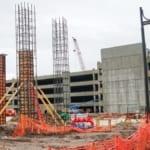 Construction for Pedestrian Bridge Starts in Disney Springs