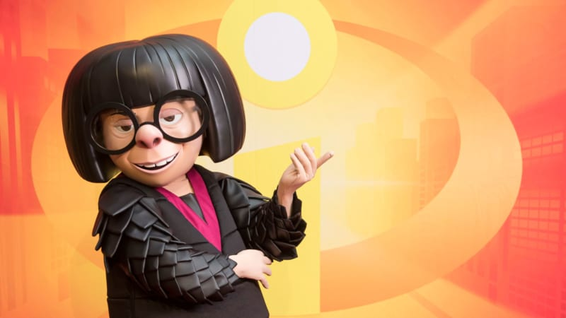 Edna Mode from 'The Incredibles' Coming to Disneyland and Disney World Disney This Summer