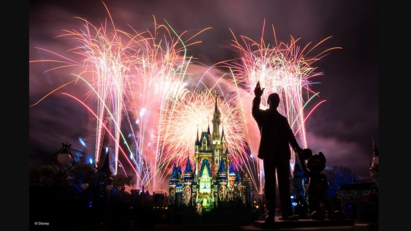 Happy Ever After Celebrates its First Anniversary in Disney's Magic Kingdom