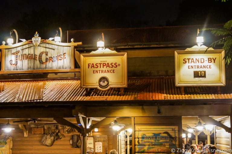 fastpass for Jungle Cruise