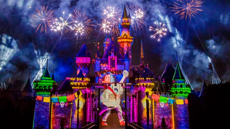 Disney Parks Live Streaming Event of 'Together Forever – A Pixar Nighttime Spectacular' from Disneyland Park