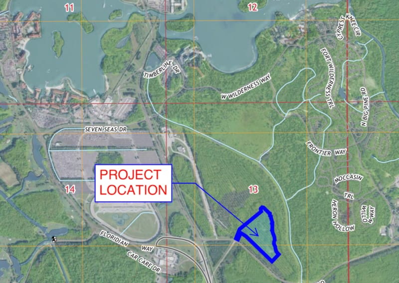 New Permits Filed for River Country Project.  New Hotel on the Way?