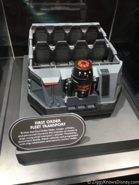Rise of the Resistance Ride Vehicle model from D23 Expo