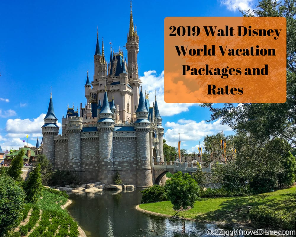 2019 Walt Disney World Vacation Packages And Rates Now