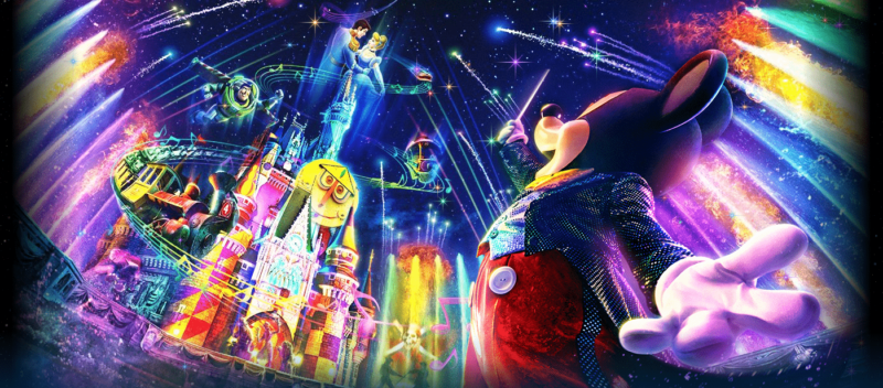 "New Nighttime Fireworks Show ""Celebrate! Tokyo Disneyland"" Coming to Tokyo Disneyland"