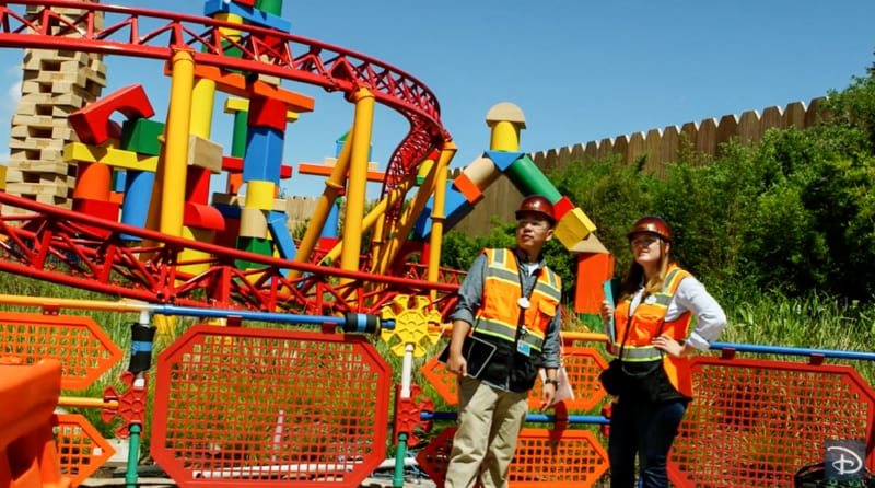 VIDEO: Disney Imagineers Wrap Up Toy Story Land Construction