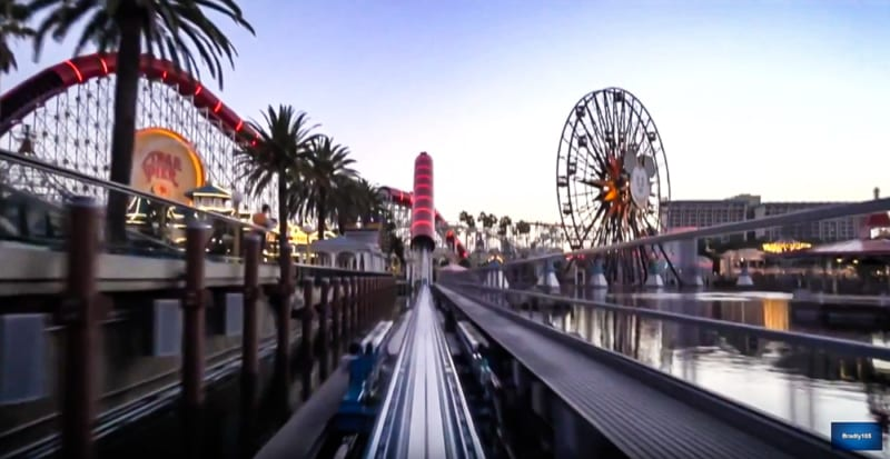 VIDEO: First POV Ride for Incredicoaster in Disney California Adventure, My Thoughts…