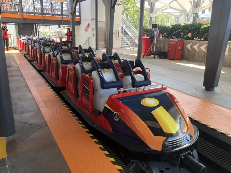 Someone's Wig Falls Off Their Head While Riding Incredicoaster on Pixar Pier