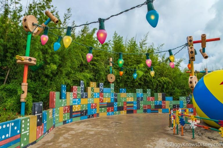 Sneak Peak at Toy Story Land Theming Disneyland Paris