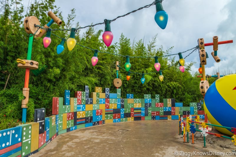PHOTO TOUR: Sneak Peak at Toy Story Land Theming Looking at Disneyland Paris