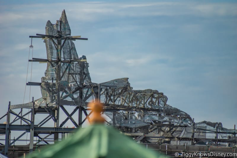 PHOTOS: New Star Wars Galaxy's Edge Construction Views from Inside Toy Story Land