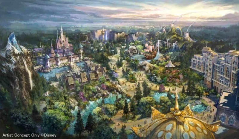 3 New Themed Lands Coming to Tokyo DisneySea Expansion Project (Frozen, Tangled and Peter Pan)