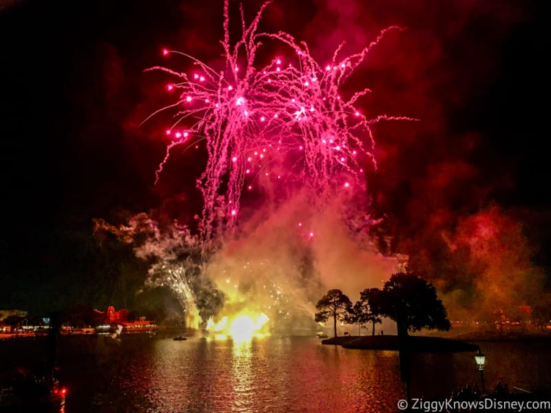 Construction Underway for New Epcot Illuminations Fireworks Show