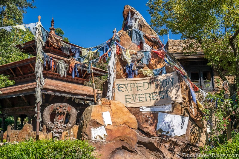 Expedition Everest sign Animal Kingdom