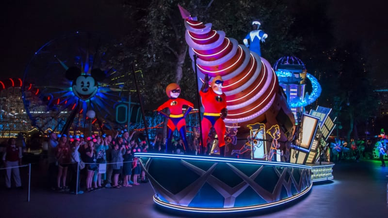Paint the Night Live Streaming Event on Wednesday from Disney California Adventure