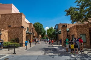 Pixar Place sign was removed in Hollywood Studios