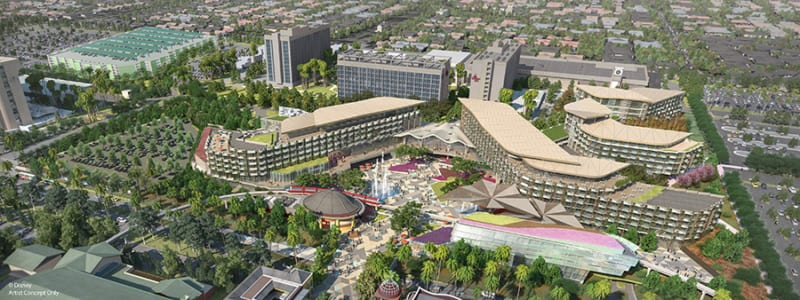 Plans for Disneyland Luxury Hotel Cancelled in Downtown Disney