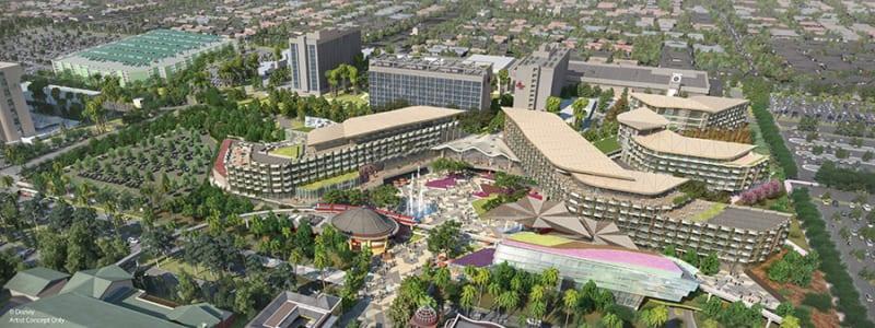 New Disneyland Luxury Hotel on Hold