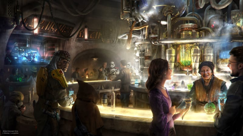 Oga's Cantina Coming to Star Wars Galaxy's Edge and Will Serve Alcohol