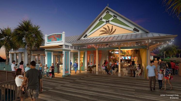 Sebastian's Bistro Replacing Shutters and Coming to Disney's Caribbean Beach Resort