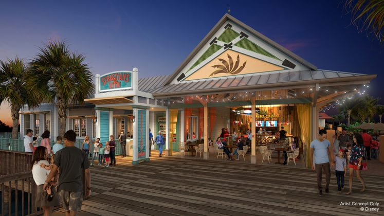 Sebastian's Bistro Replacing Shutters and Coming to Disney's Caribbean Beach Resort