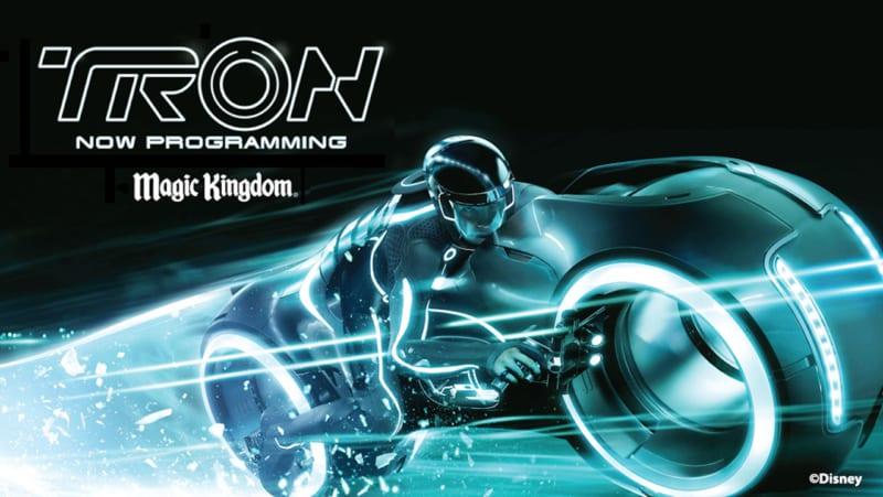 Magic Kingdom Attractions Closing for Tron Coaster Construction