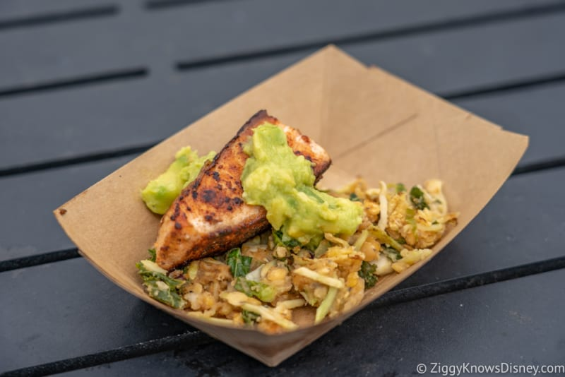 Active Eats Review 2019 Epcot Food and Wine Festival verlasso salmon