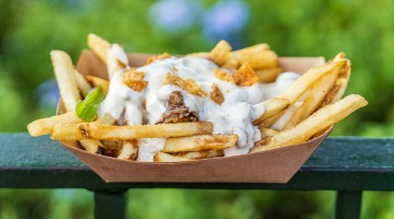 Best snacks Epcot Food and Wine Festival 2019 Duck Poutine