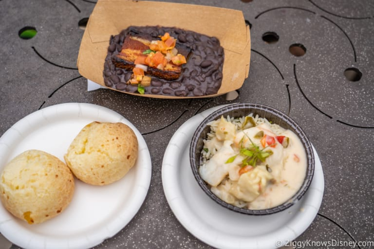 Brazil Review 2018 Epcot Food and Wine Festival food