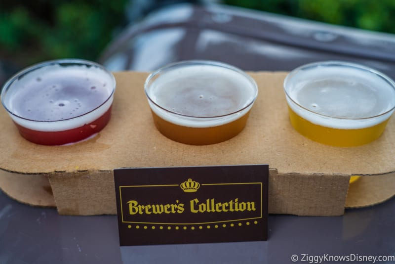 Brewer's Collection Review 2019 Epcot Food and Wine Festival Beer Flight