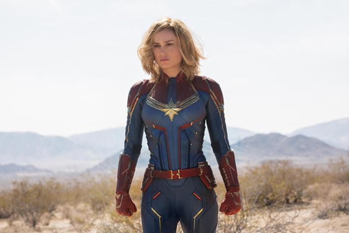 First Captain Marvel Trailer Debuts