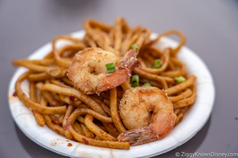 China Review 2018 Epcot Food and Wine Festival black pepper shrimp