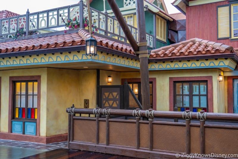 Adventureland Club 33 entrance finished Magic Kingdom