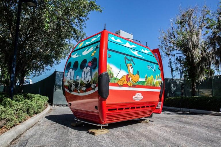 Disney Skyliner Gondola Outside