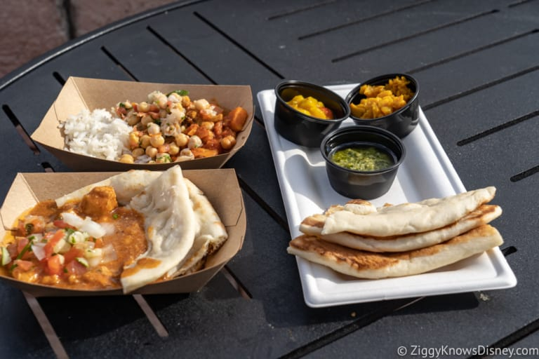 India Review 2018 Epcot Food and Wine Festival food