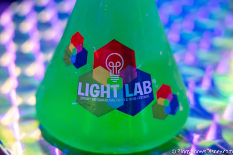 REVIEW: Light Lab – 2018 Epcot Food and Wine Festival