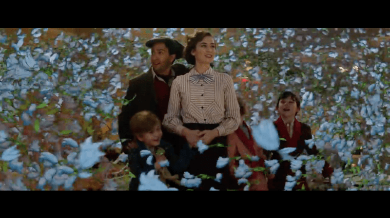 Disney's Mary Poppins Returns Official Trailer Released and New Poster