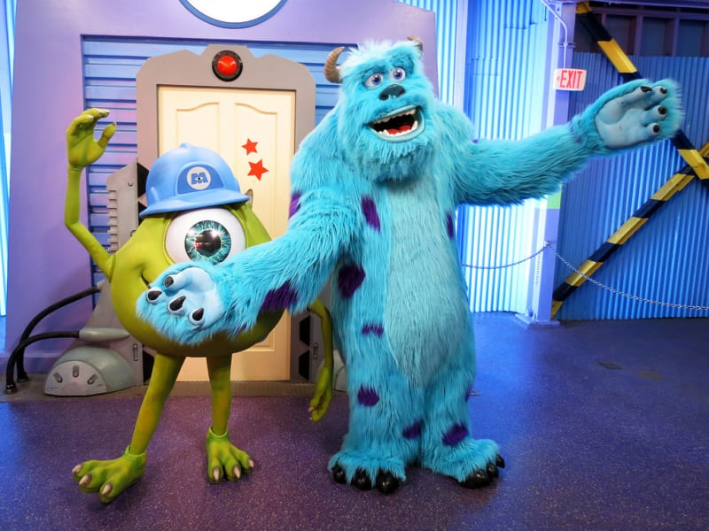 Mike and Sulley Monsters, Inc Character Meet and Greet Coming to Hollywood Studios Replacing Groot and Star Lord